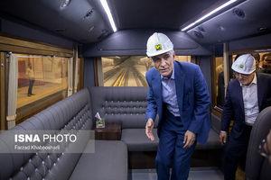 عکس/ واگن VIP مسئولان در مترو!