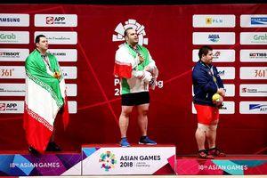 عکس/ ایرانی ترین سکوی قهرمانی بازیهای آسیایی