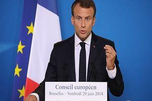 ماکرون: اروپا دیگر نمی تواند به آمریکا اعتماد کند