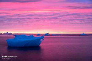 عکس/ کوه های یخ