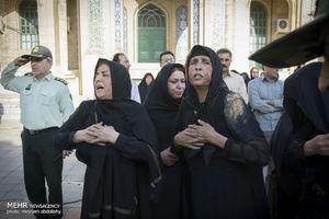 تشییع پیکر شهید خلبان «فتاحی» در کرمانشاه