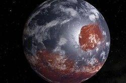 کشف دریاچه مخفی در قطب جنوب مریخ