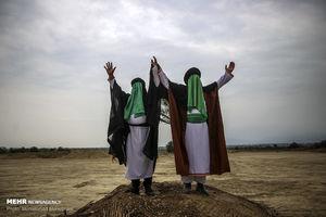 عکس/ بازسازی واقعه غدیر خم