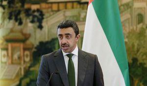 حذف اتهام زنیهای وزیر خارجه امارات از توئیتر