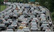 ترافیک نیمه سنگین در محور هراز و چالوس