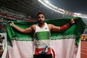 احسان حدادی با کسب طلا رکورددار شد/ نوزدهمین طلا برای ورزش ایران