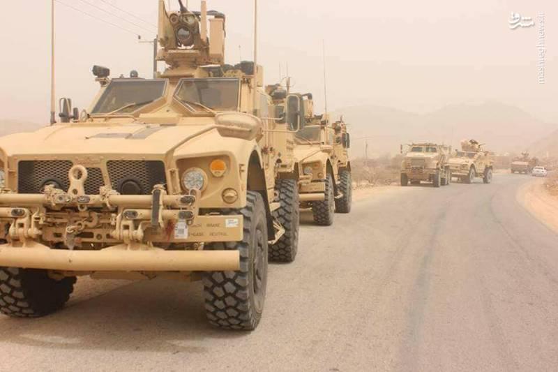 زره پوش های Oshkosh M-ATV متعلق به عربستان مجهز به سامانه کنترل از راه دور سلاح  CROWS