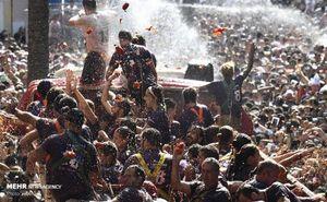 جشنواره گوجه فرنگی در اسپانیا