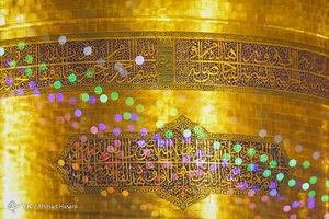 شب عید غدیر در حرم امام رضا(ع)