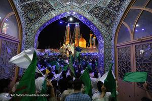 عکس/ جشن شب عید غدیر در قم