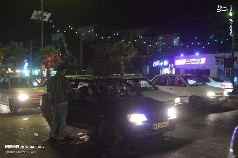 پخش شربت و شیرینی در شب عید غدیر