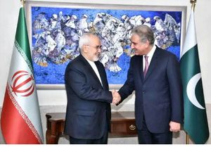 ظریف مخدوم شاه وزیر امور خارجه پاکستان