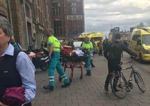 حمله با چاقو به مسافران در ایستگاه قطار آمستردام