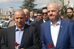 پیام اینفانتینو به فدراسیون فوتبال ایران