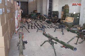 کشف دارو و تسلیحات تروریستها در قنیطره