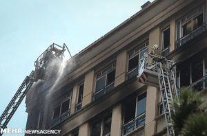 ساختمان دولتی ناایمن در تهران