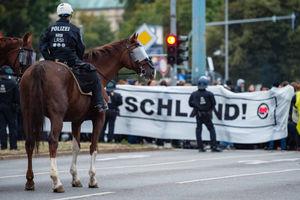 تظاهرات ضد مهاجرتی در آلمان