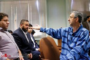 عکس/ دومین جلسه دادگاه اسفندیار رحیم مشایی