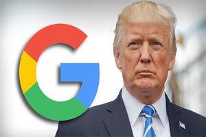 """فیلم/ سرشاخ شدن ترامپ با """"گوگل""""!"""