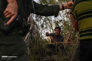 عکس/ دستگیری مهاجران در مرز آمریکا و مکزیک