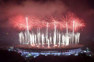 عکس/ اختتامیه بازیهای آسیایی جاکارتا