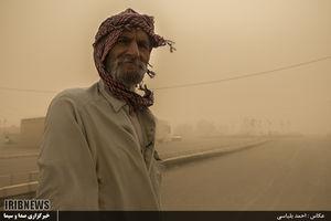 عکس/سیستان و بلوچستان؛ ایستاده در غُبار