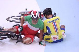 فاجعه تیم ملی دوچرخه سواری در جاکارتا