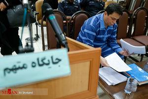 عکس/ هفتمین دادگاه حمید باقری درمنی