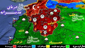 اعزام ۸۰ هزار نیرو برای پاکسازی آخرین پایگاه تروریستها در شمال سوریه/ اعلام آمادگی شهروندان مناطق اشغالی شمال سوریه برای جنگ با گروههای تروریستی + نقشه میدانی