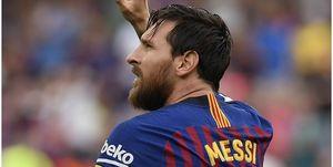 واکنش بارسلونا به نبود نام مسی در میان برترینهای ۲۰۱۸