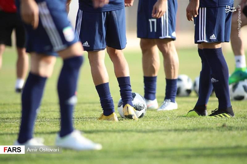 اولین تمرین تیم ملی بعد از جام جهانی