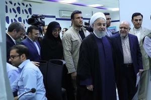 فیلم/ روحانی: امروز طرح هایی را افتتاح می کنیم که در تحریم آغاز کردیم