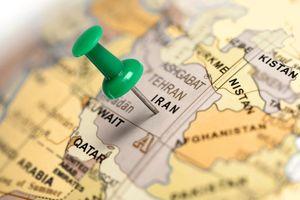 نقشه ایران نمایه