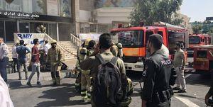 آخرین وضعیت آتشسوزی در برج بهار