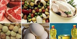 رشد قیمت ۸ گروه مواد خوراکی