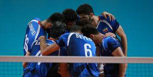 برنامه دیدارهای تیم ملی والیبال ایران در تورنمنت اسلوونی