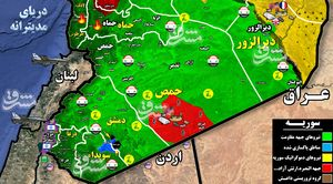 جزئیات حملات موشکی جنگندههای رژیم صهیونیستی به سوریه + نقشه میدانی و تصاویر