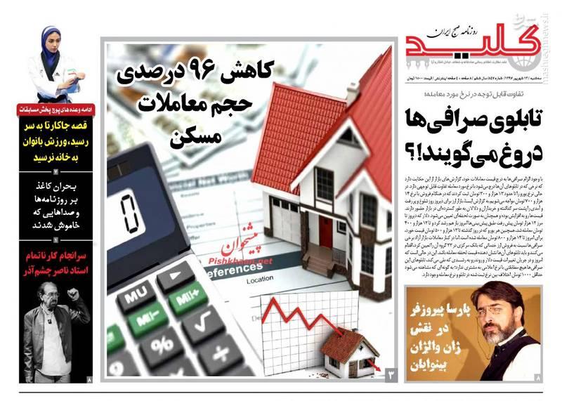 کلید: کاهش ۹۶درصدی حجم معاملات مسکن