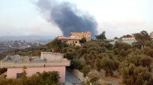عکس/ حمله جنگندههای اسرائیلی به سوریه