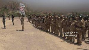 عکس/ دوره آموزشی ارتش و انصارالله یمن