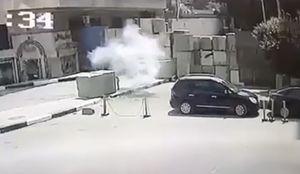 وقوع انفجار مقابل سفارت آمریکا در قاهره