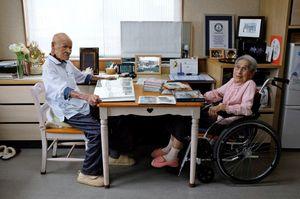 عکس/ پیرترین زوج دنیا