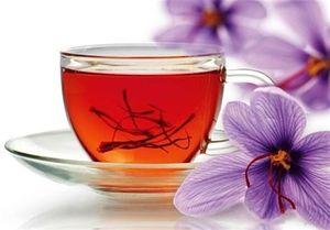 چای نمایه چای زعفران