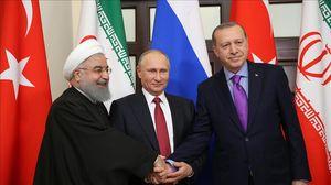 پوتین اردوغان روحانی