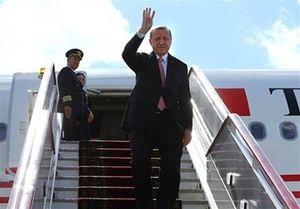 اردوغان آنکارا را به مقصد تهران ترک کرد