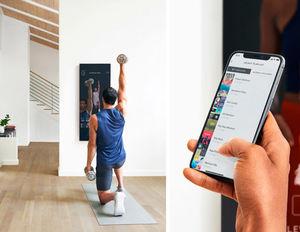 آینهای که در خانه با شما ورزش میکند