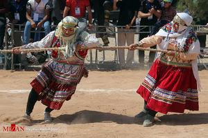 عکس/ جشنواره کشوری بازی های بومی محلی