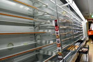 عکس/ هجوم مردم ژاپن به فروشگاهها