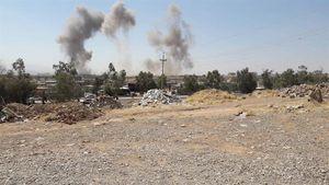 اصابت چند موشک به مقرهای حزب دمکرات