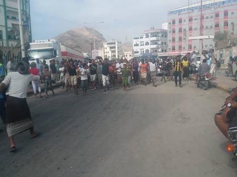 صدای پای انقلاب در جنوب و شرق یمن علیه ائتلاف غربی - عربی - صهیونیستی/ اعتراض، اعتصاب و تعطیلی ادارات در مناطق اشغالی ۷ استان یمن +عکس